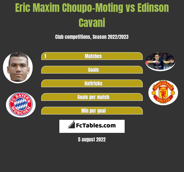 Eric Maxim Choupo-Moting infographic statistics for PSG