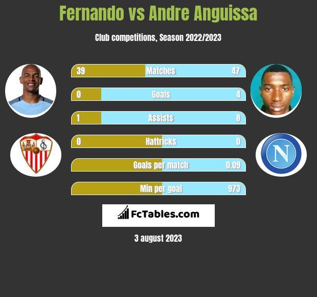 Fernando vs Andre Anguissa infographic