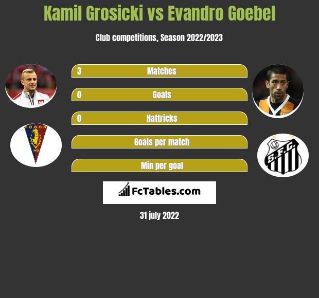 Kamil Grosicki infographic statistics for Hull City