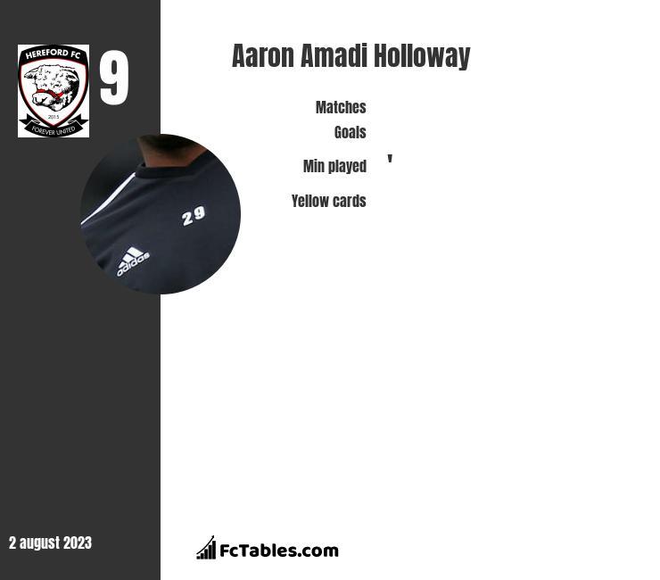 Aaron Amadi Holloway infographic