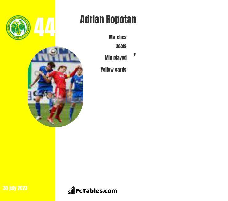 Adrian Ropotan infographic