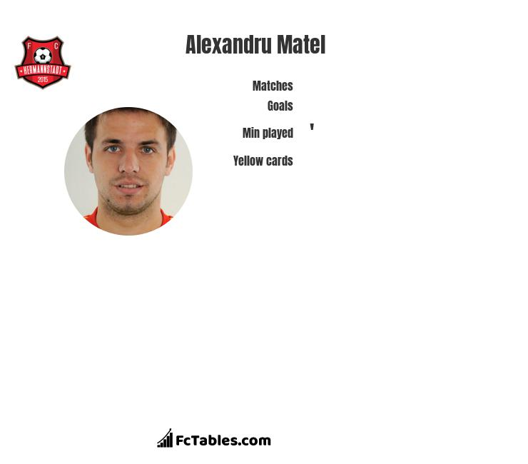 Alexandru Matel infographic
