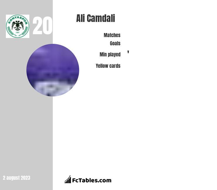 Ali Camdali infographic