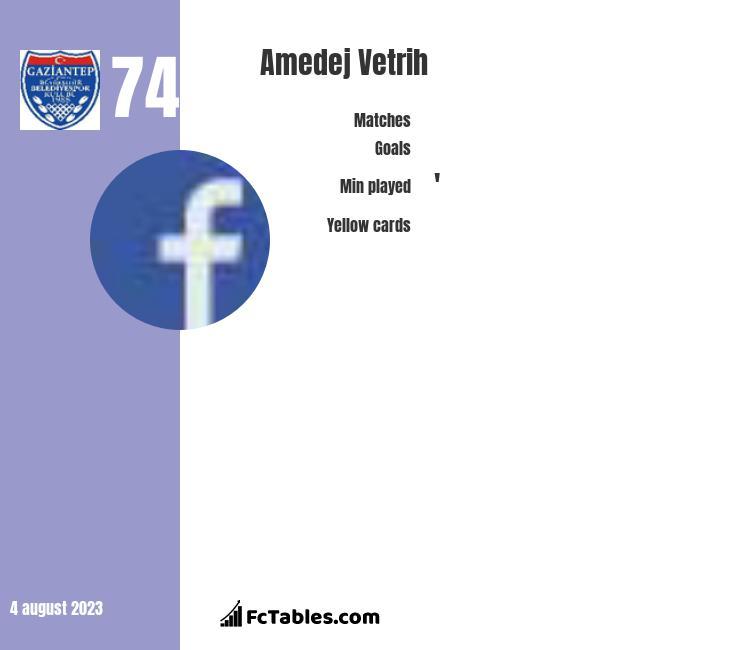 Amedej Vetrih infographic