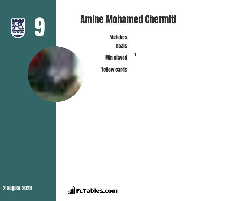 Amine Mohamed Chermiti infographic