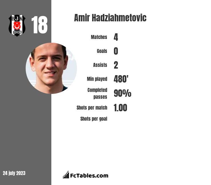 Amir Hadziahmetovic infographic