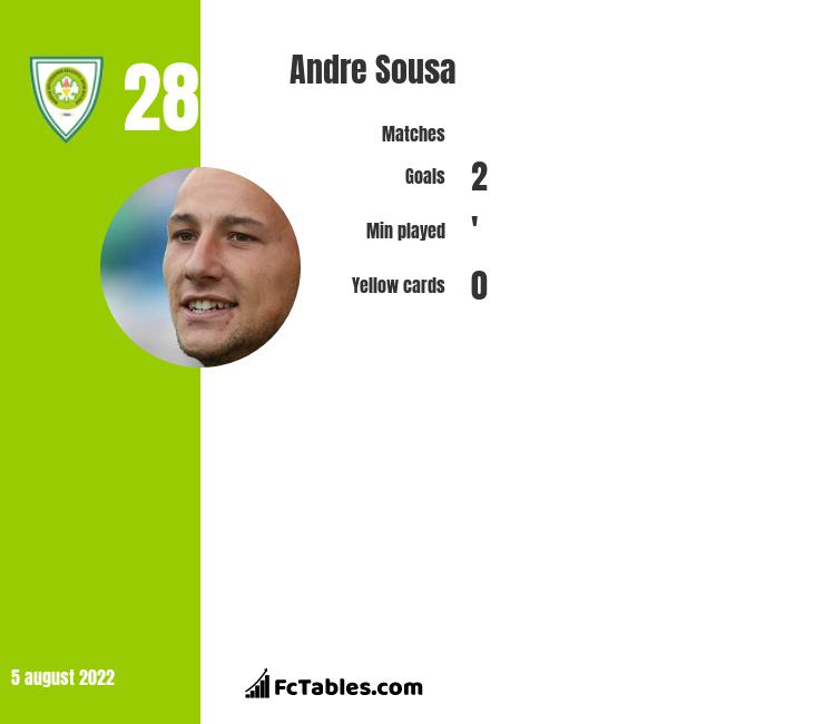 Andre Sousa infographic