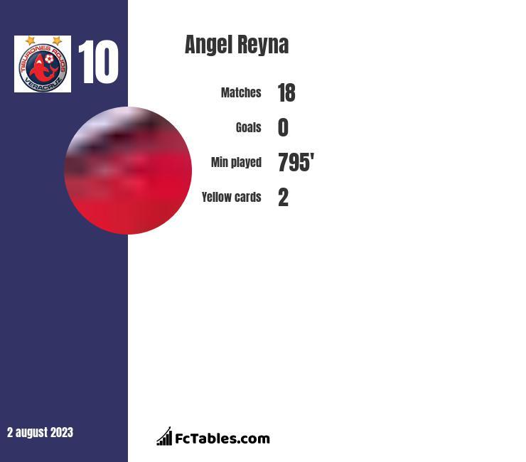 Angel Reyna infographic