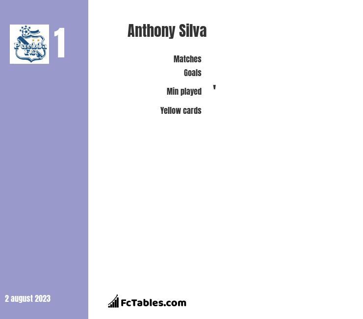 Anthony Silva infographic