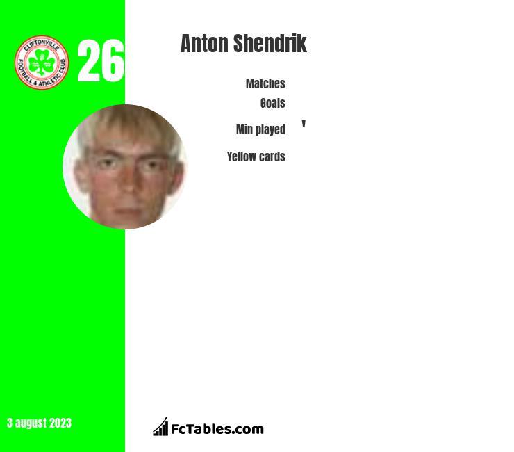 Anton Shendrik infographic