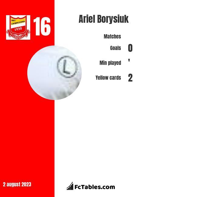 Ariel Borysiuk infographic