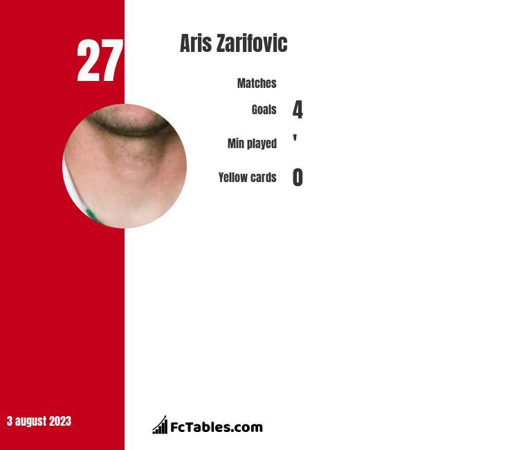 Aris Zarifovic infographic