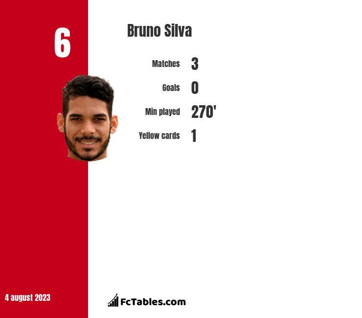 Bruno Silva infographic
