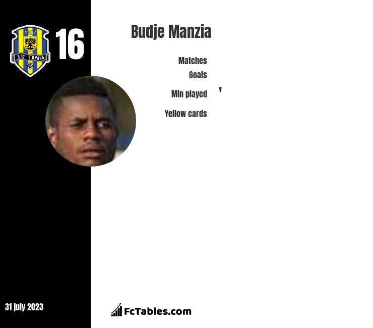 Budje Manzia infographic