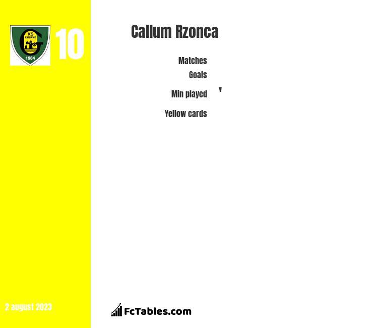 Callum Rzonca infographic