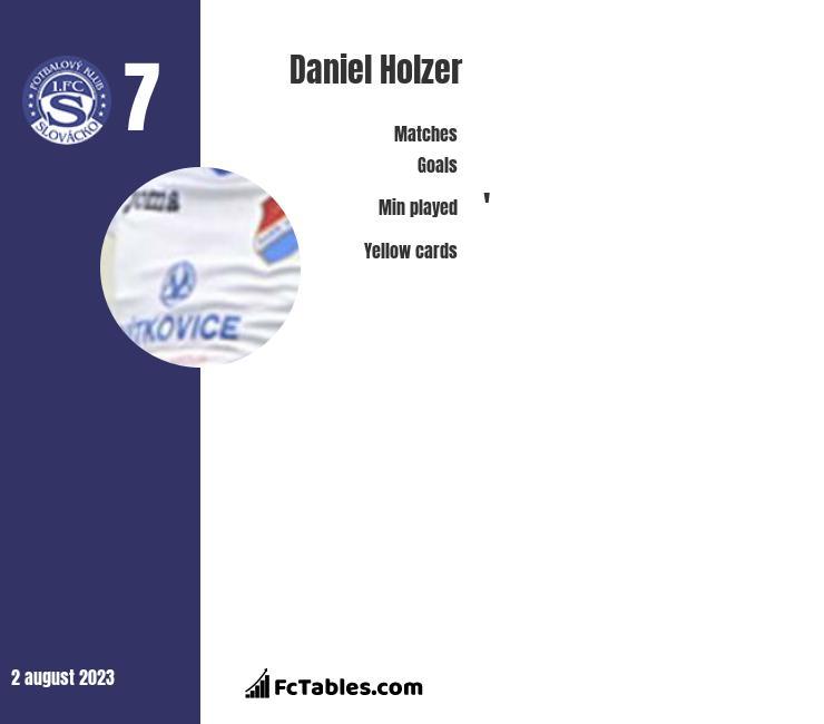 Daniel Holzer infographic