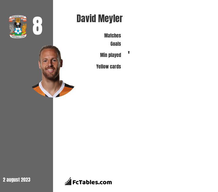 David Meyler infographic