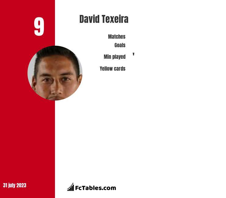 David Texeira infographic