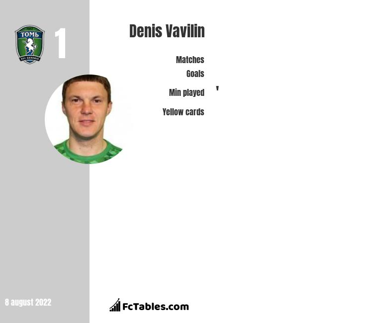 Denis Vavilin infographic