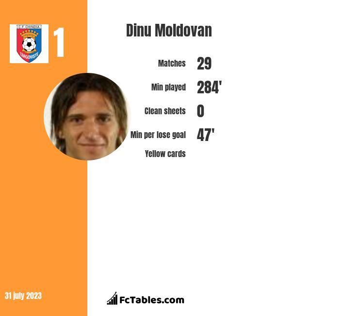 Dinu Moldovan infographic
