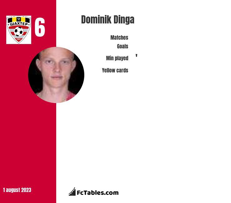 Dominik Dinga infographic