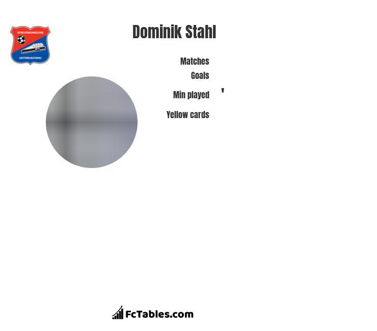 Dominik Stahl infographic
