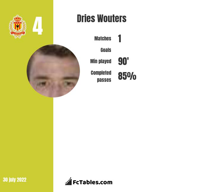 Dries Wouters infographic