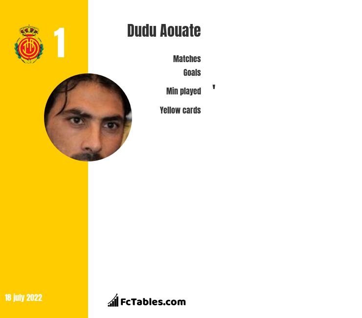 Dudu Aouate infographic