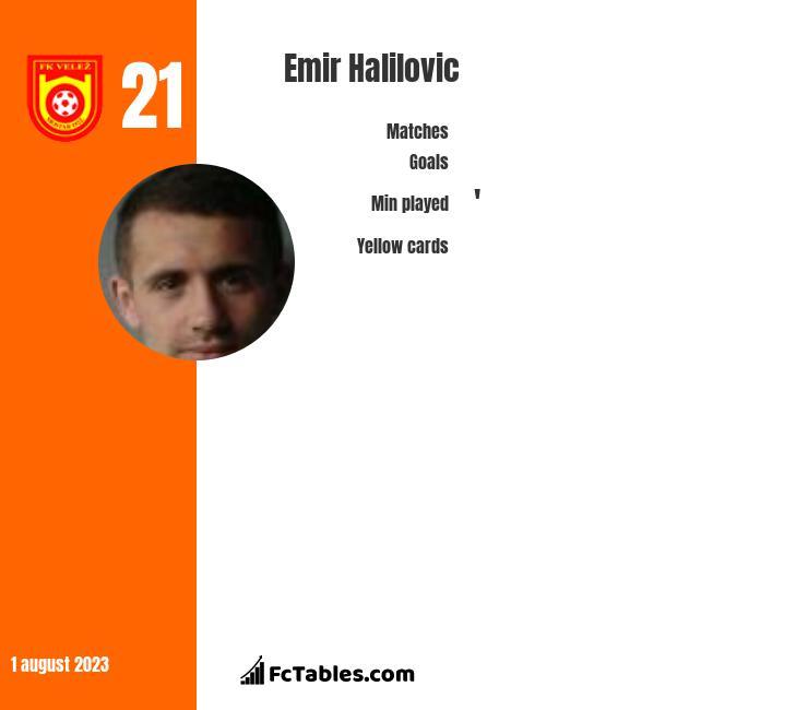 Emir Halilovic infographic