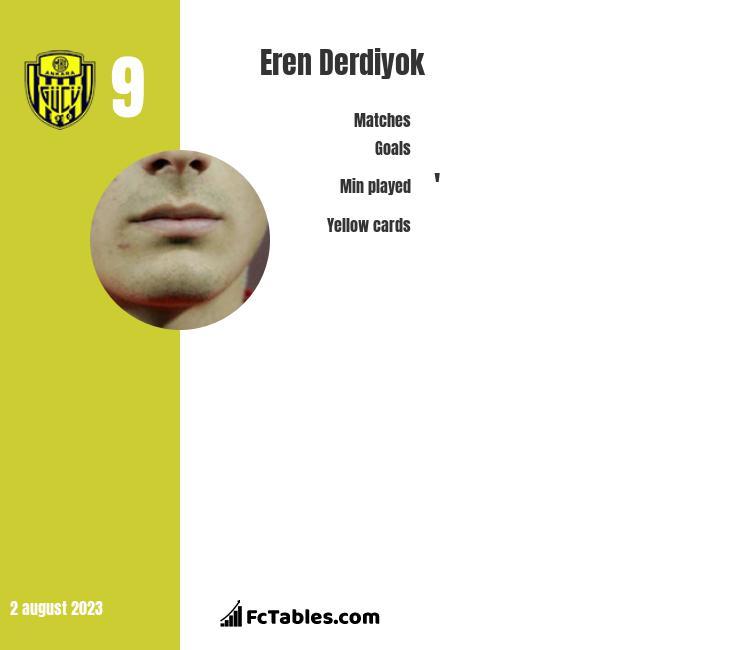 Eren Derdiyok infographic