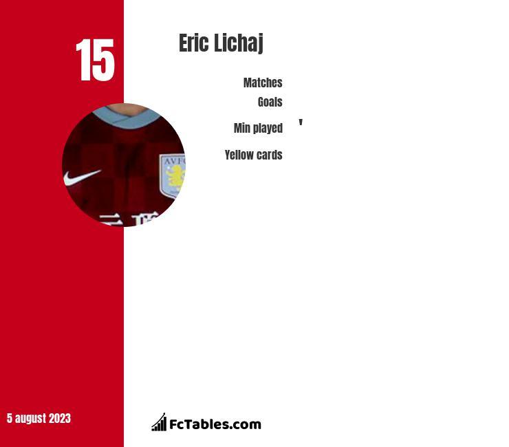 Eric Lichaj infographic