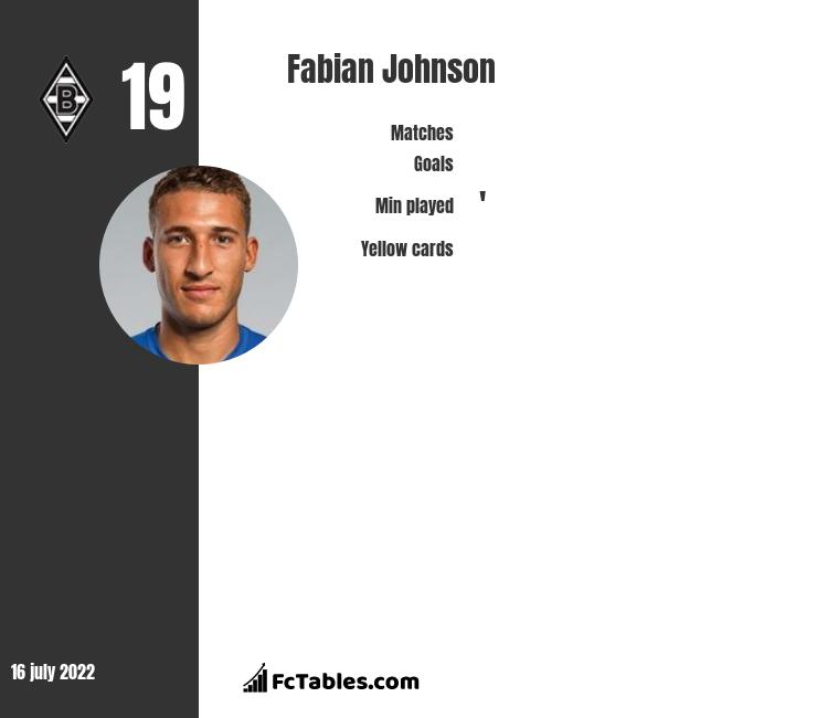 Fabian Johnson infographic