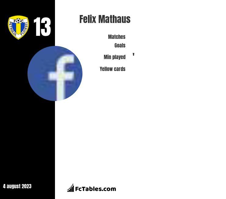 Felix Mathaus infographic