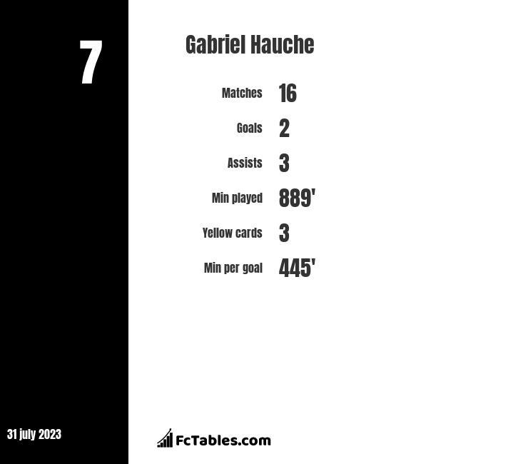 Gabriel Hauche infographic