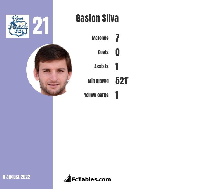 Gaston Silva infographic
