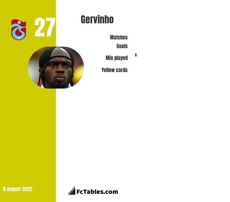 Gervinho infographic