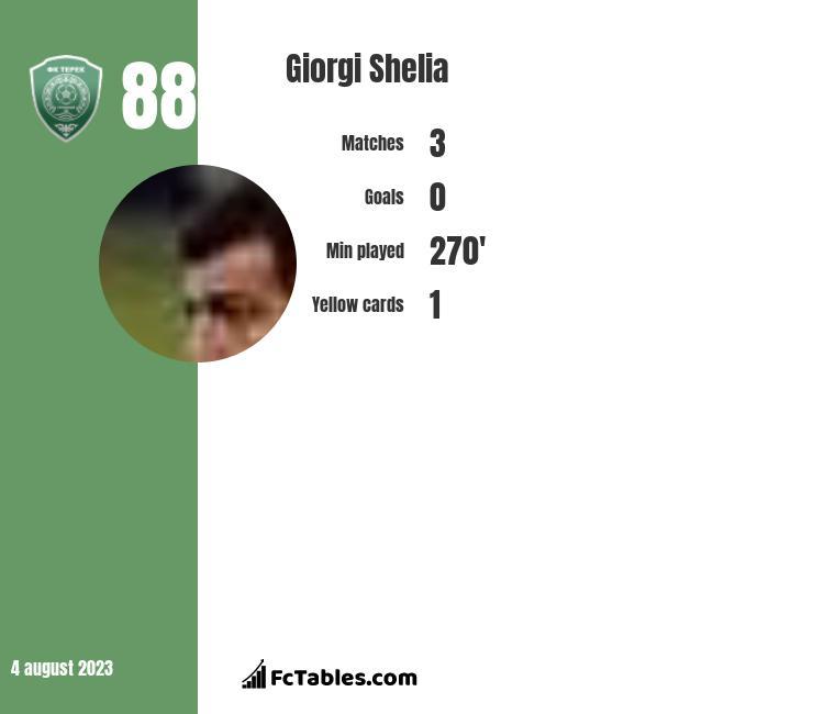 Giorgi Shelia infographic