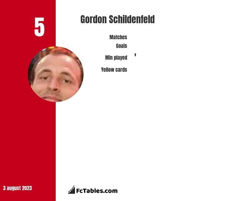 Gordon Schildenfeld infographic