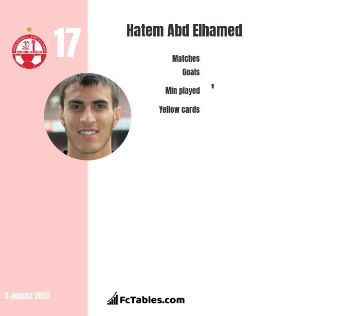 Hatem Abd Elhamed infographic