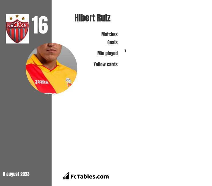 Hibert Ruiz infographic