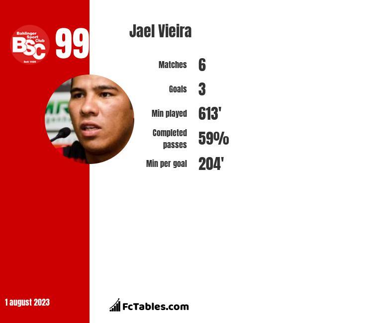 Jael Vieira infographic