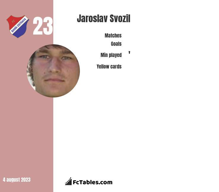 Jaroslav Svozil infographic