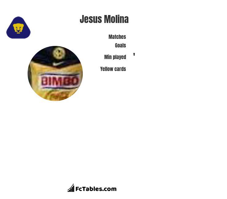 Jesus Molina infographic