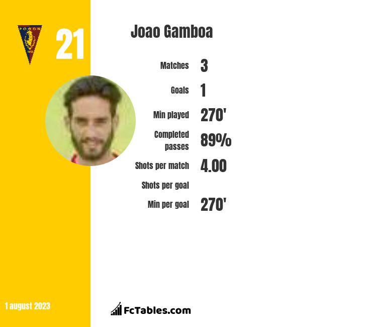 Joao Gamboa infographic