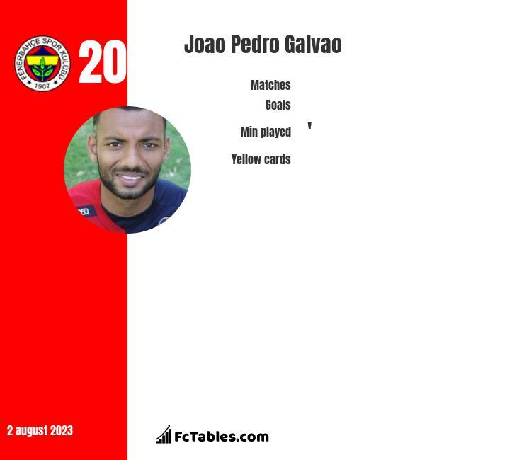 Joao Pedro Galvao infographic