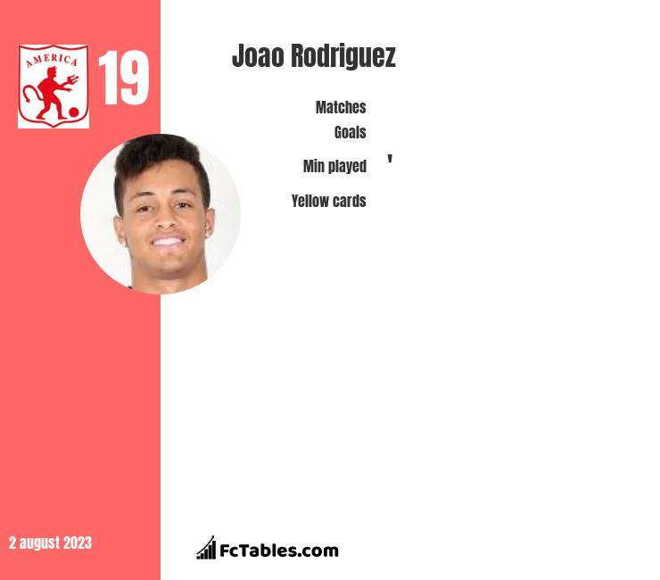 Joao Rodriguez infographic