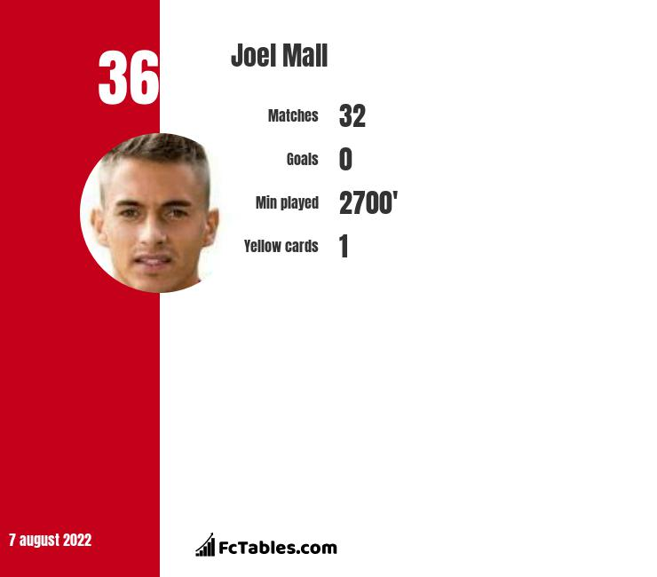 Joel Mall infographic