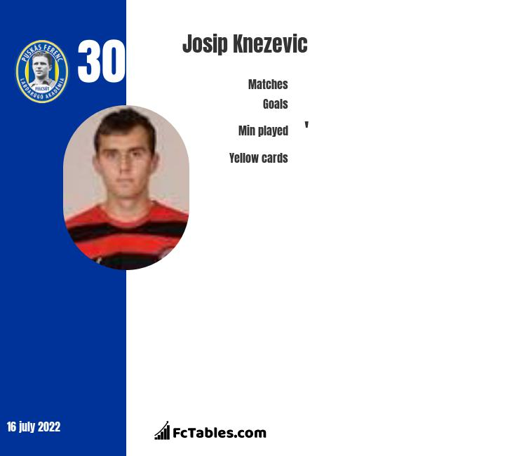 Josip Knezevic infographic