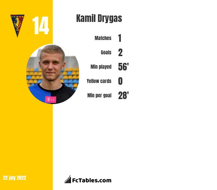 Kamil Drygas infographic