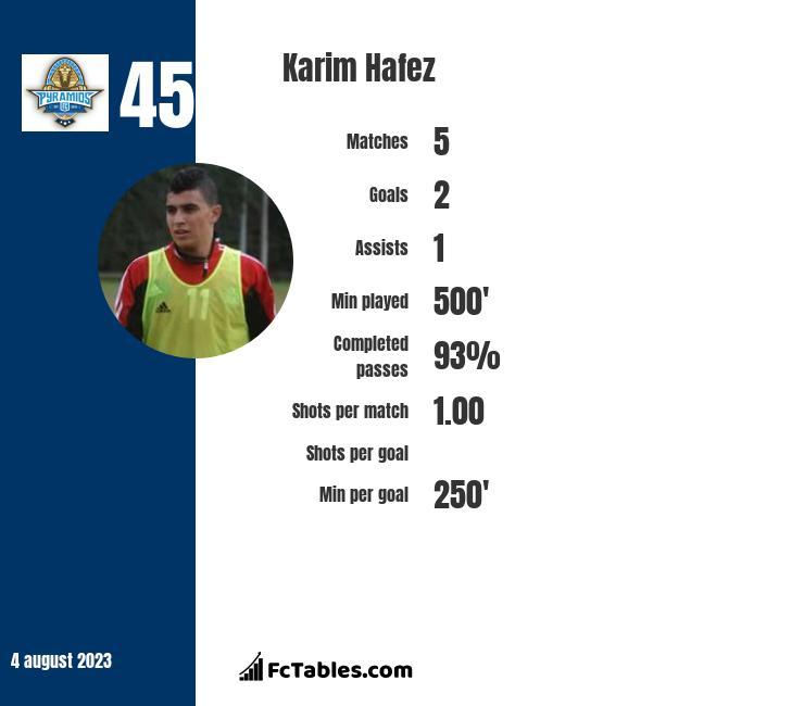Karim Hafez infographic